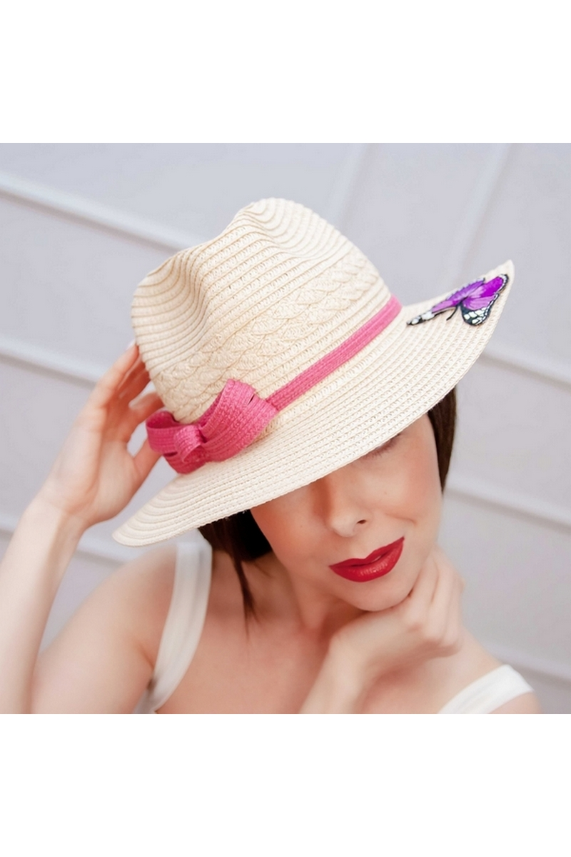 Buy Womens Straw Fedora Brim Panama Beach Havana Summer Sun Hat Party Floppy
