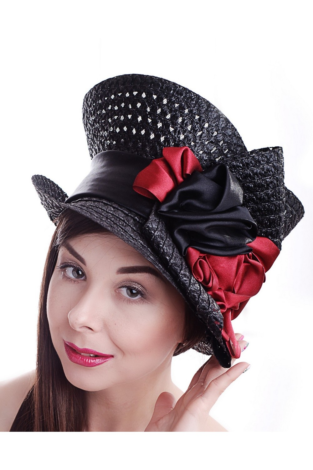 Buy Summer women's black hat, Exclusive unique stylish hat for casual and holiday