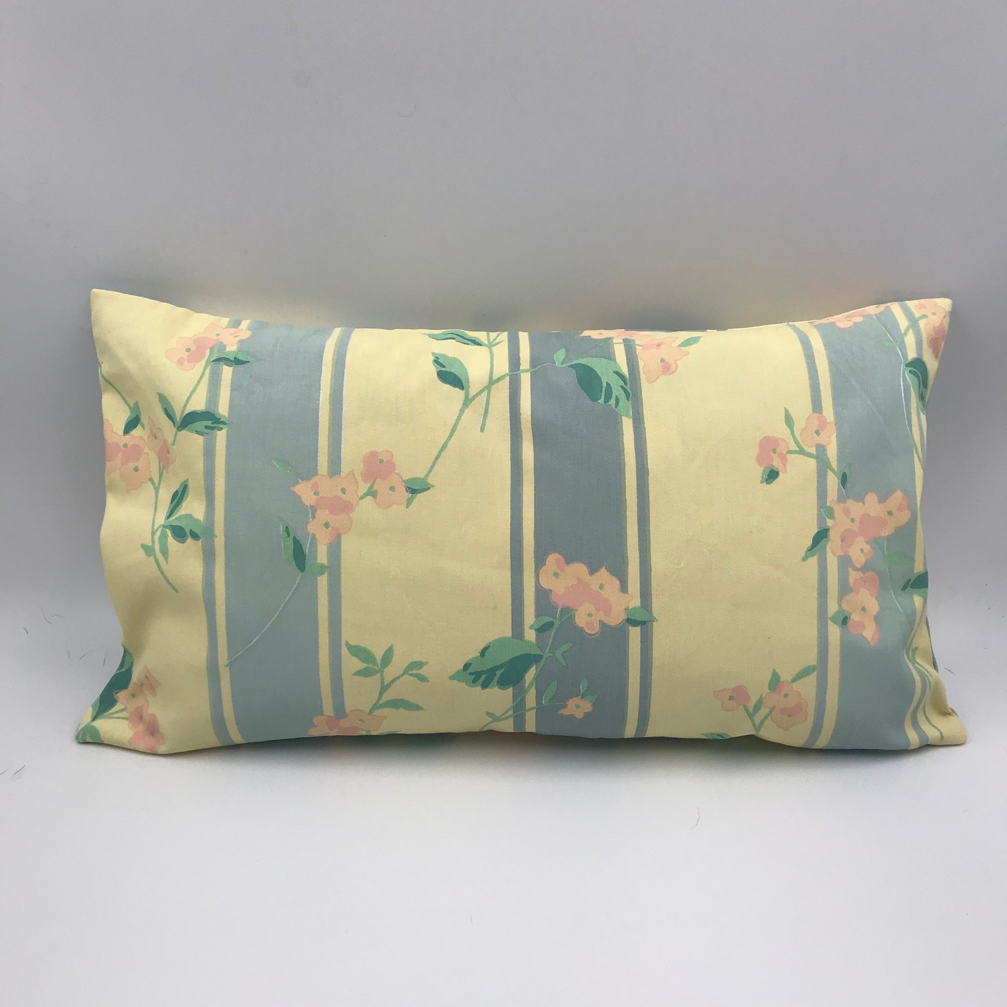 Buy Handmade pillow vintage retro style, Сotton rectangula pillow style 60s, Сraftsman's pillow, Hand made decorative pillow