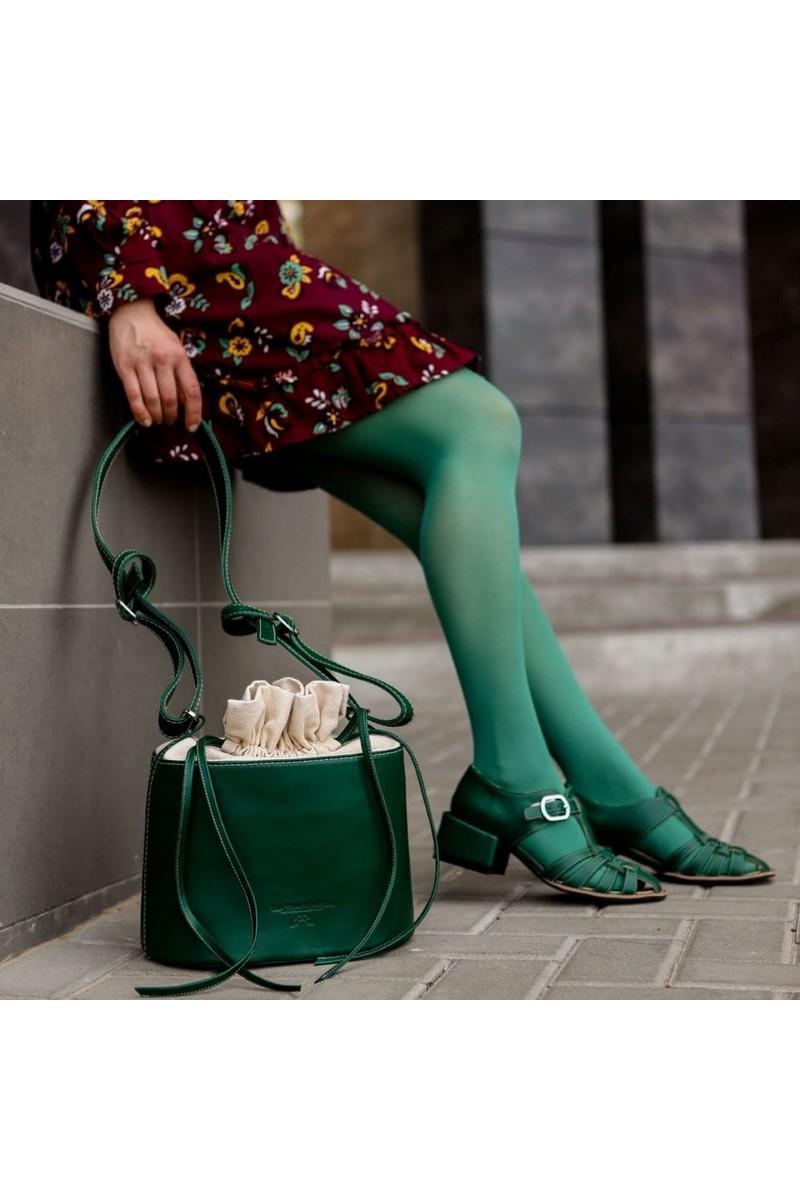 Buy Green unique leather women casual handbag dressy fashion shoulder bag