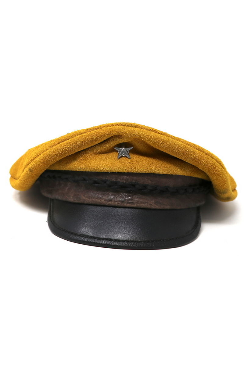 Buy Yellow Submarine Beetles Hat, Suede Stylish Handmade sailor captain's hat
