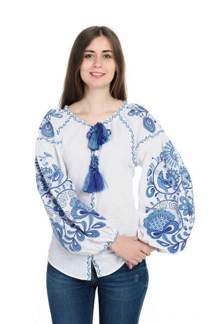 Buy Women's embroidered blouse in the Ukrainian style