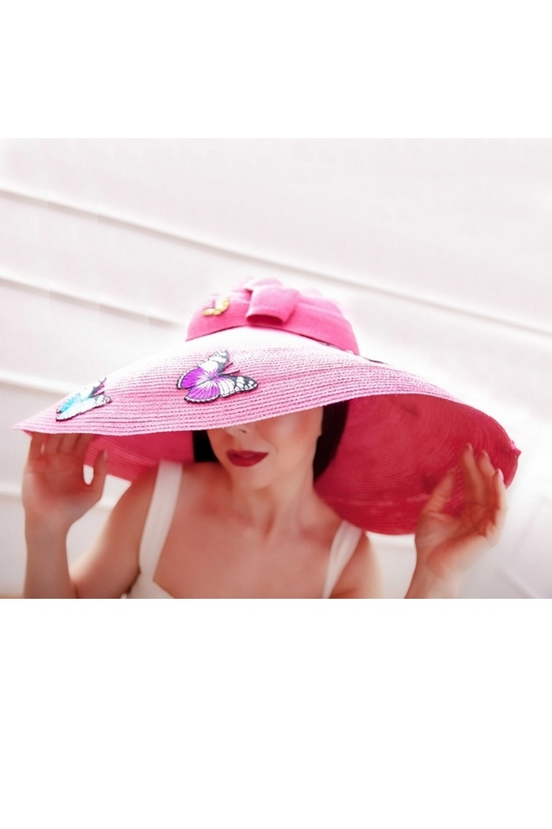 Buy Womens Sun Straw Hat Wide Brim Summer Hat Floppy Beach Hats for Women