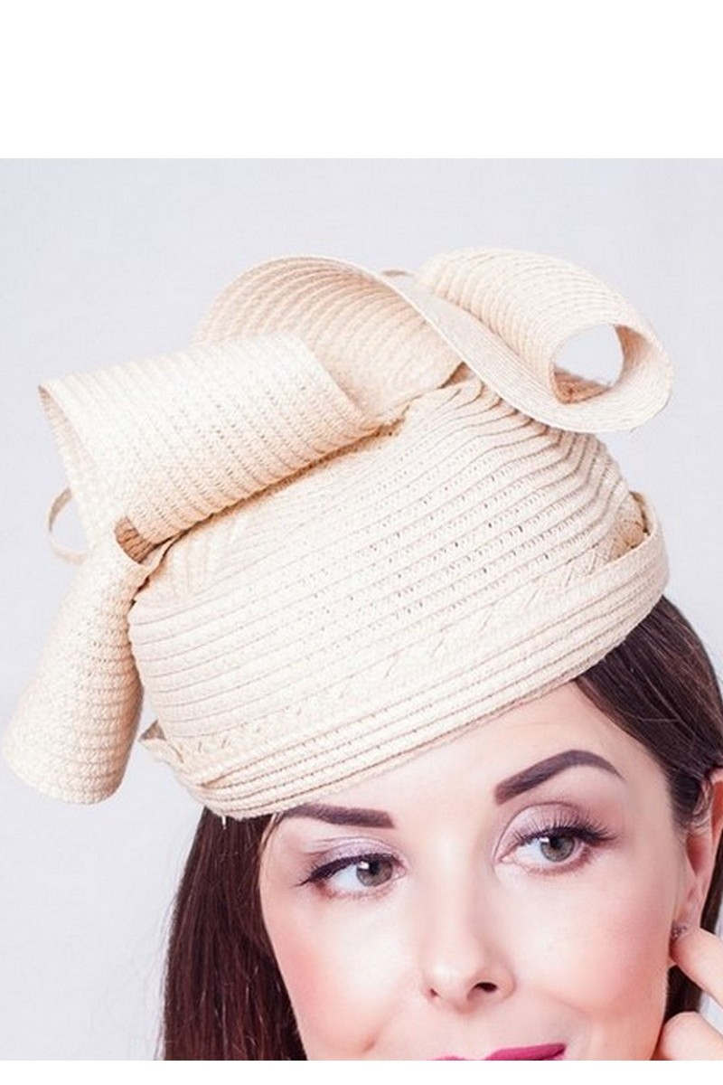 Buy Party summer straw beige elegant pillow women`s design hat