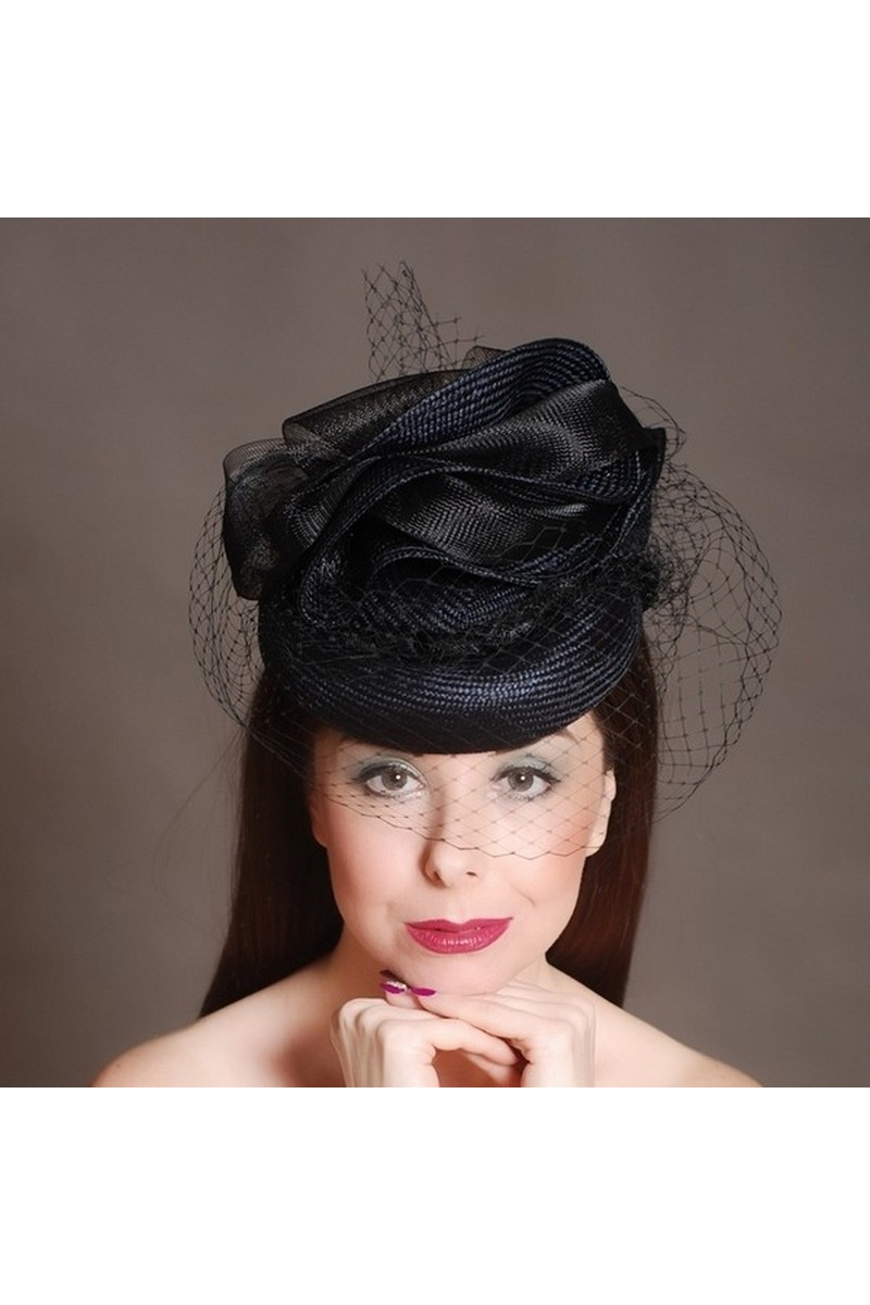 Buy Blue Straw Church Kentucky Derby Dress Hats for Women