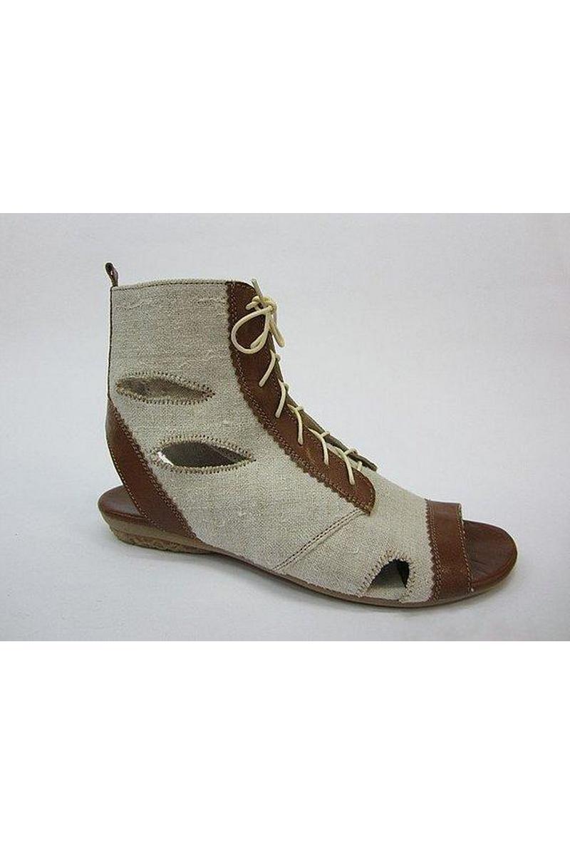 Buy Hemp summer vegan eco comfortable hippie boho women sandals, Hemp unique designer shoes