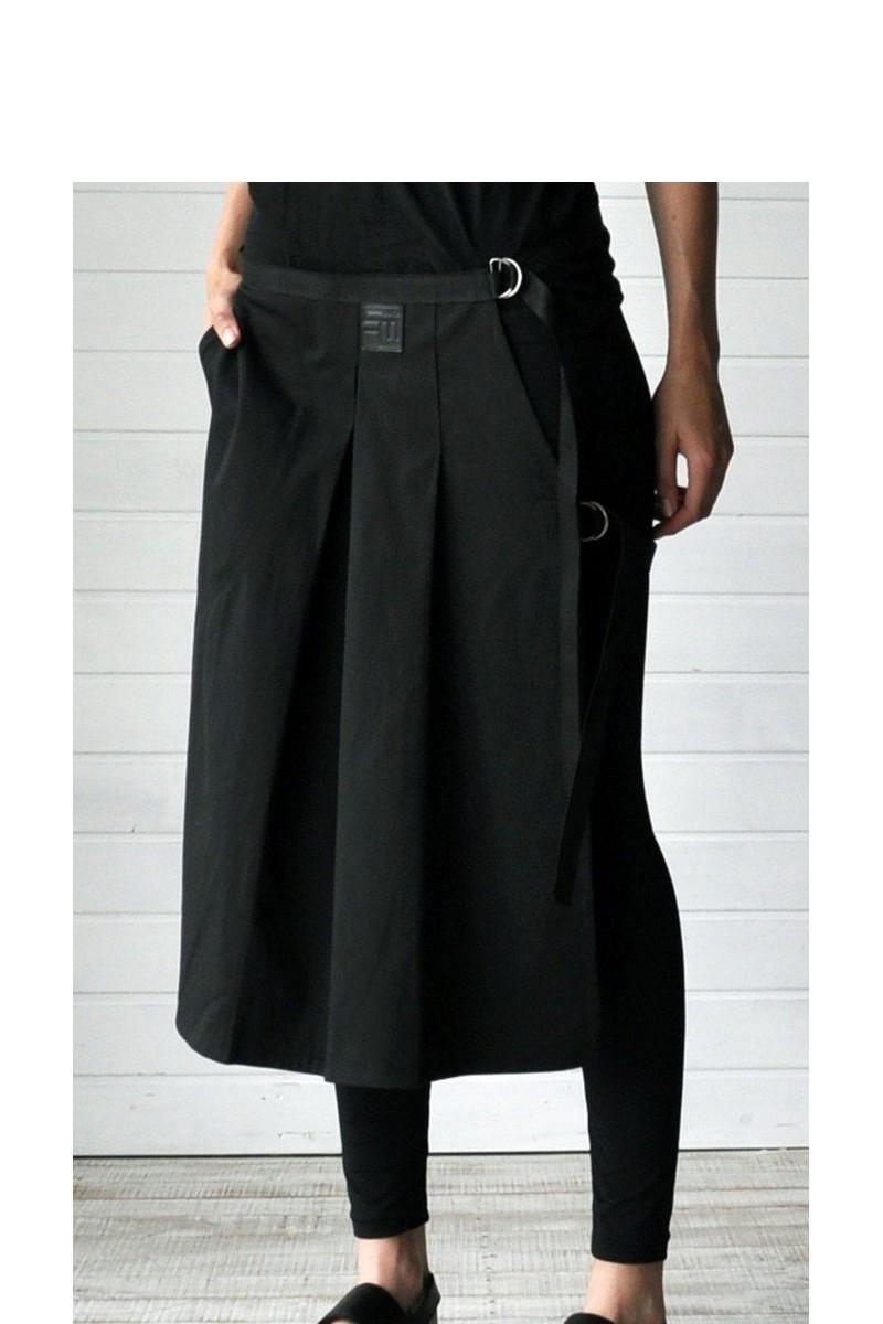 Buy Black Cotton Women Men Kilt, unique stylish designer party casual clothes