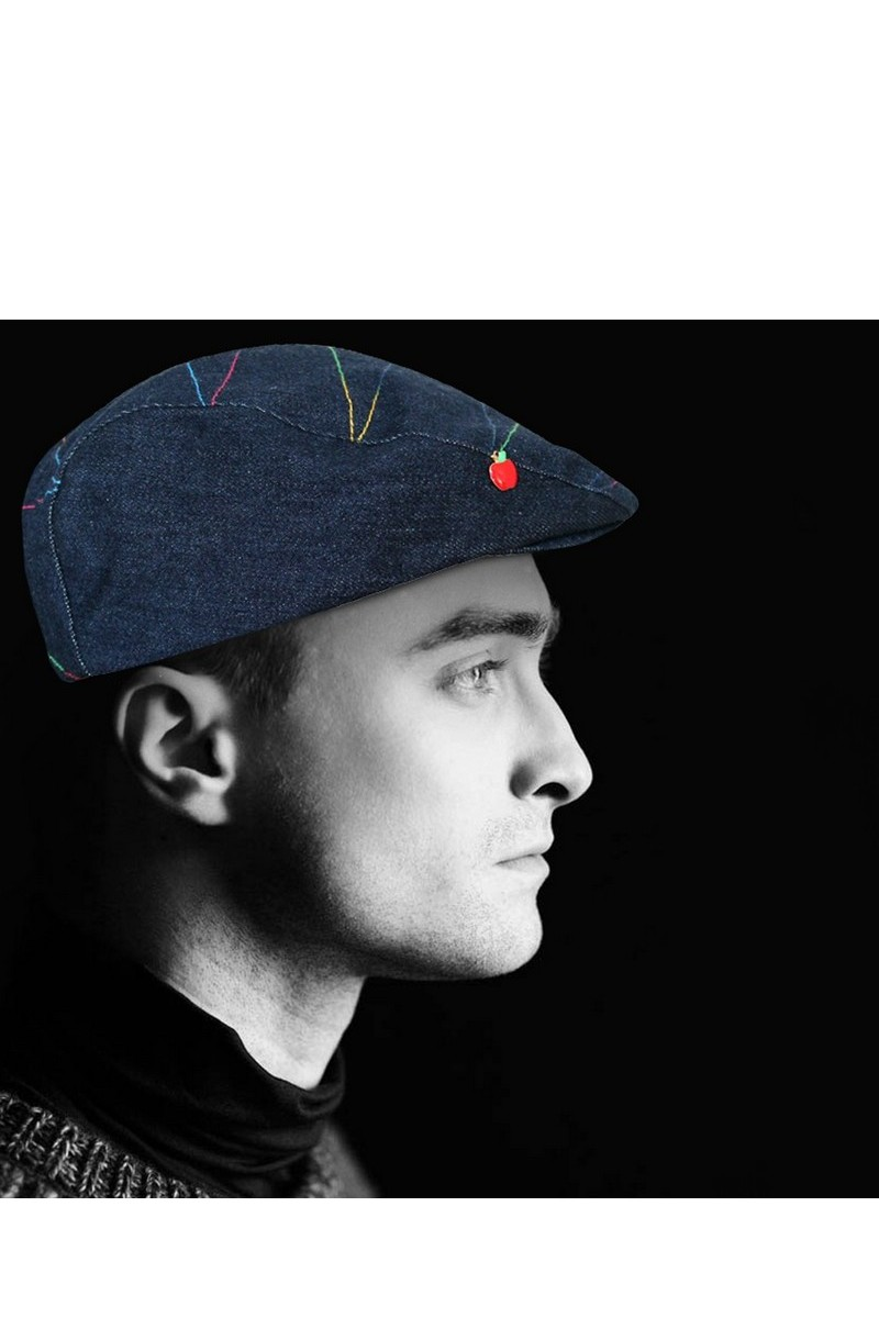 Buy Denim Stylish Flat Cap Newsboy Ivy Hat for Men Women Hats for Spring Sumer