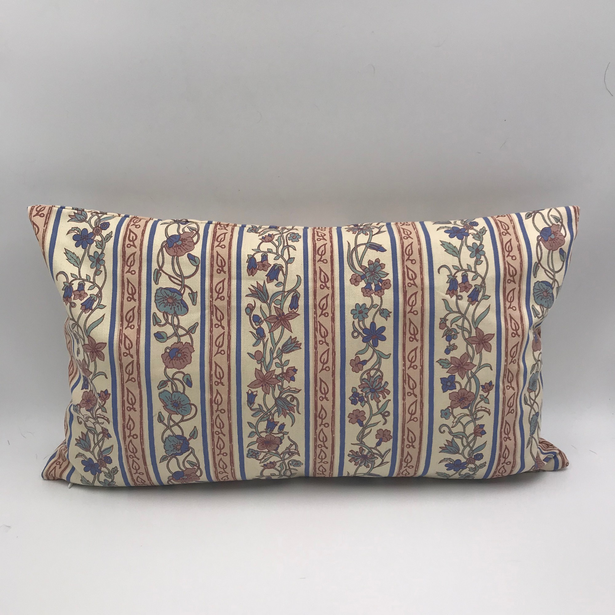 Buy Handmade pillow vintage style, Сotton pillow style 60s, Сraftsman's pillow, Hand made decorative pillow