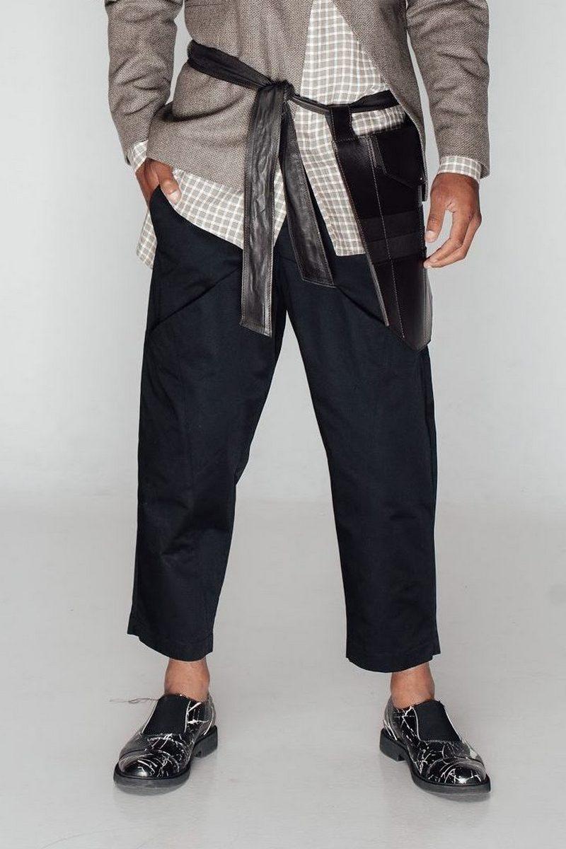 Buy Men's Relaxed Fit Cut Black Short Cotton Pants Comfort Casual Fashion Trend 2021 Pants