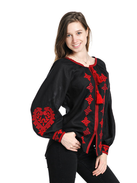 Buy Women's Ukrainian authentic ethnic blouse with embroidery