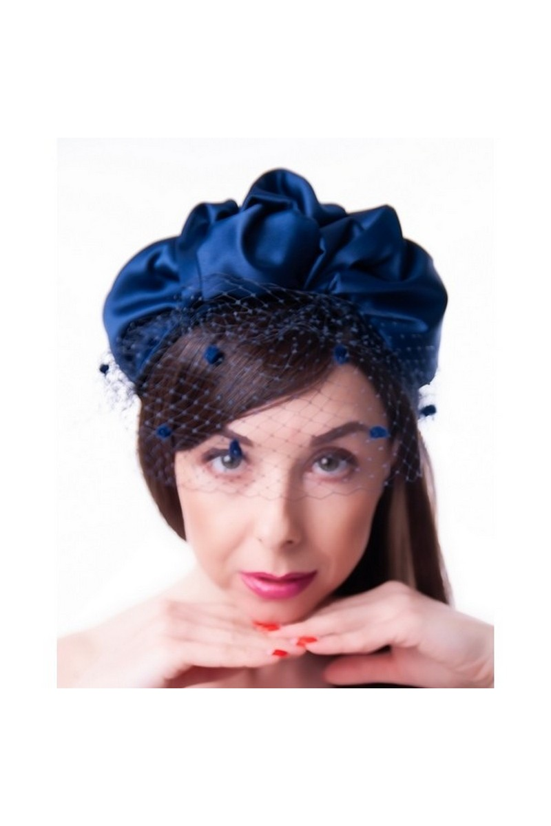 Buy Hat Cocktail Handmade Tea Party Headwear with Veil for Women