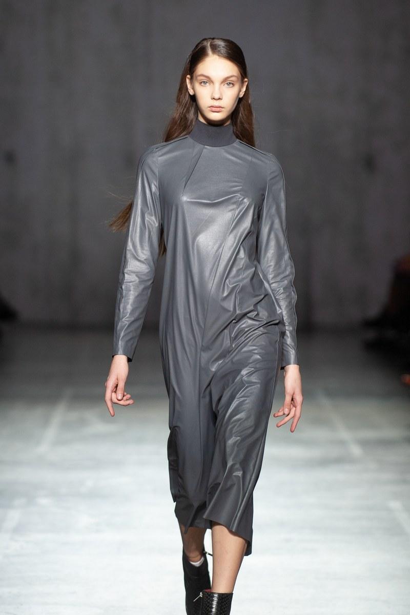 Buy Women's Grey Basic Casual Midi Dress Long Sleeve Straight Club Dresses