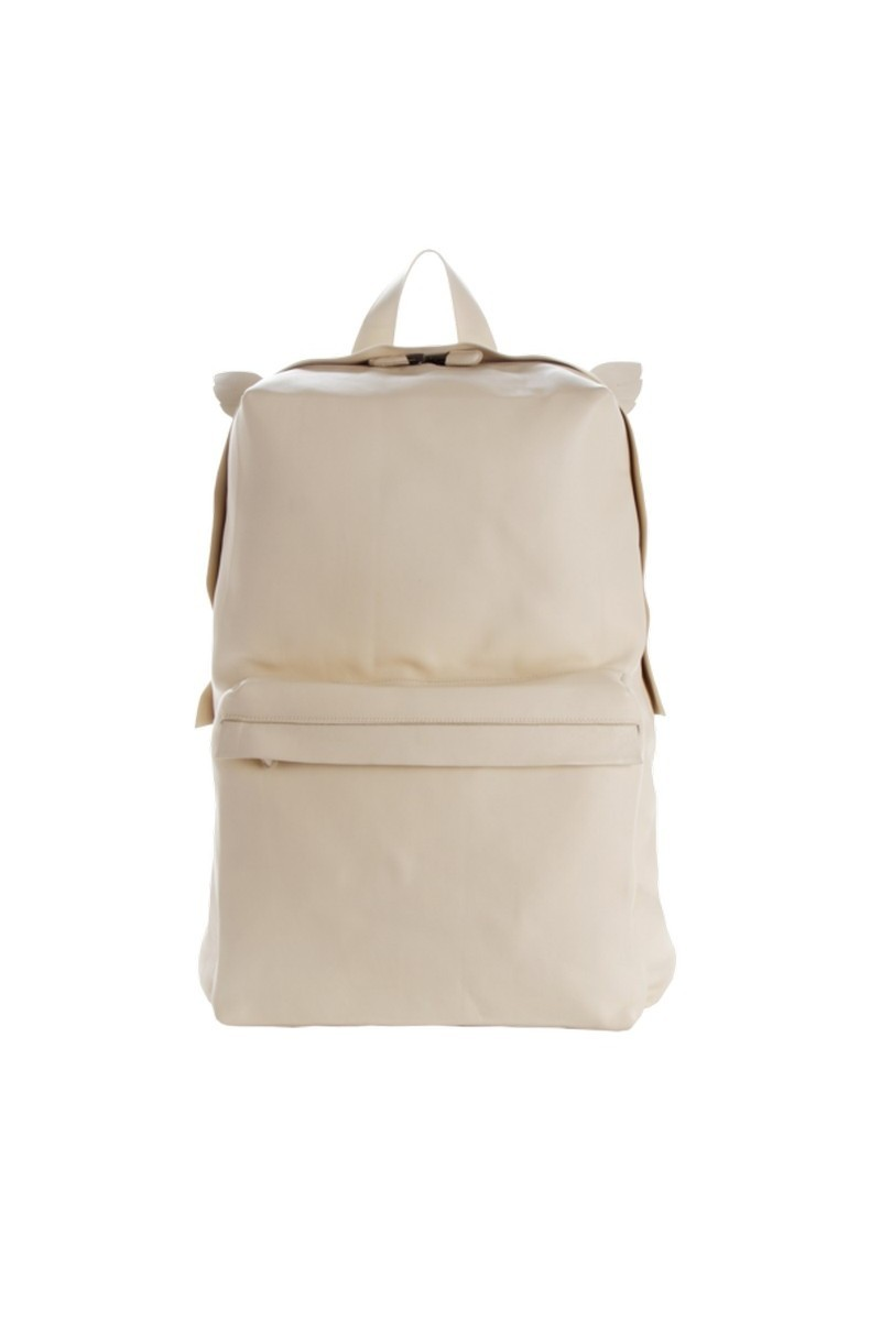 Buy Stylish Leather White Women Designer's Backpack, Comfortable casual Backpack