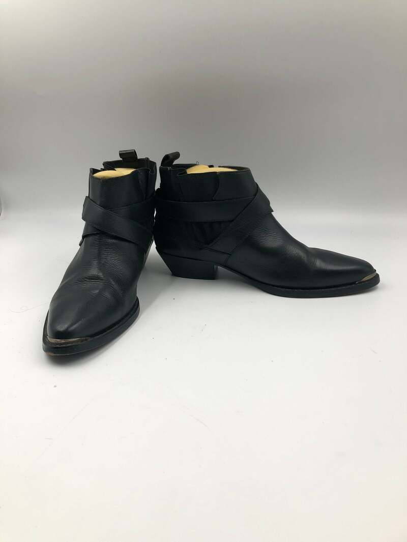 Buy Black men's shoes from real leather vintage shoes short shoes costume shoes classical shoes casual shoes with wide straps black size 10 1/2.