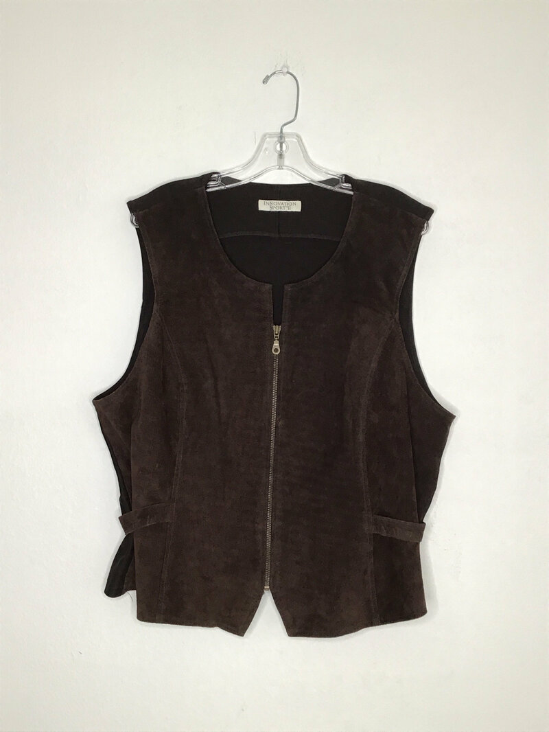 Buy Brown suede jacket M