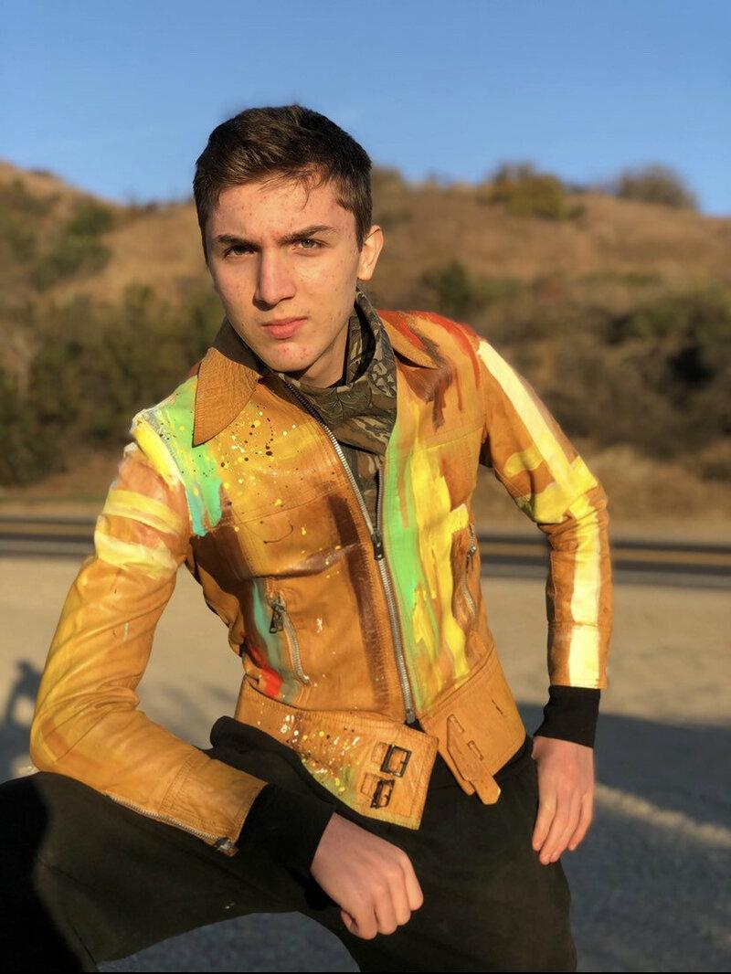 Buy Yellow men's jacket from real leather streetstyle jacket motorcycle bomber style jacket vintage jacket casual jacket retro style size-small.